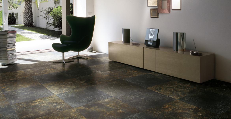 Carrelage salon cuisine urban gris 565x565 cm et 405x608 - Carrelage pour garage pas cher ...