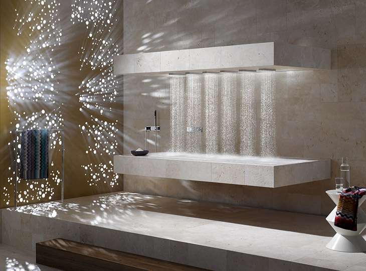 Carrelage et salle de bain sm carrelage salon de - Salle de bain style provencale ...