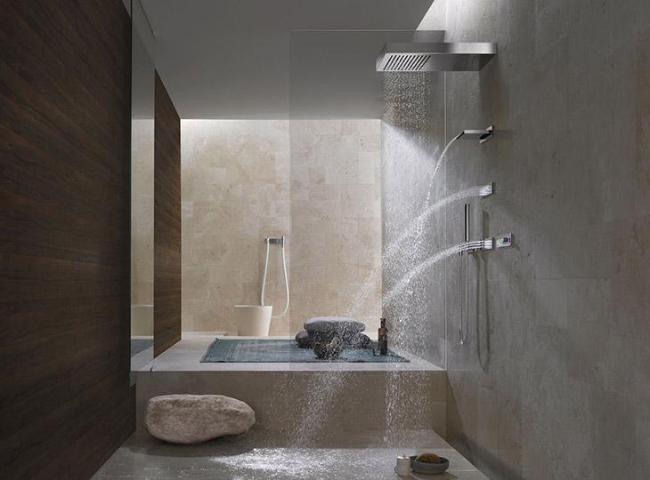 Carrelage et salle de bain sm carrelage salon de - Carrelage cuisine provencale photos ...