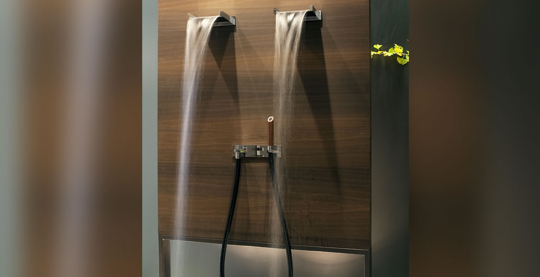 Robinetterie tendance pour salle de bain accessoires for Robinetterie salle de bain douche